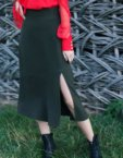 Платье из фактурного бархата CYAN_DS_K06, фото 7 - в интеренет магазине KAPSULA