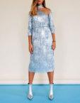 Платье-кейп oversize JG_2007_190, фото 5 - в интеренет магазине KAPSULA