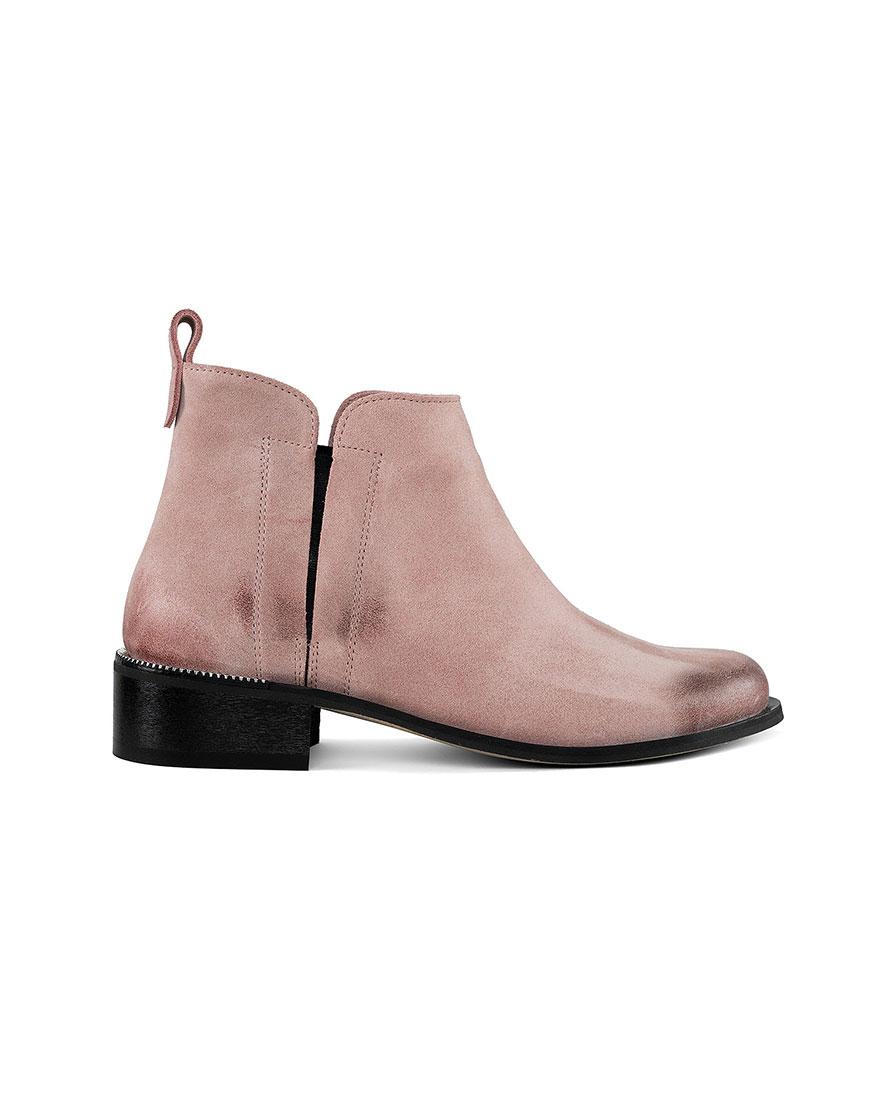 Ботинки с потертостью Cozy Pink