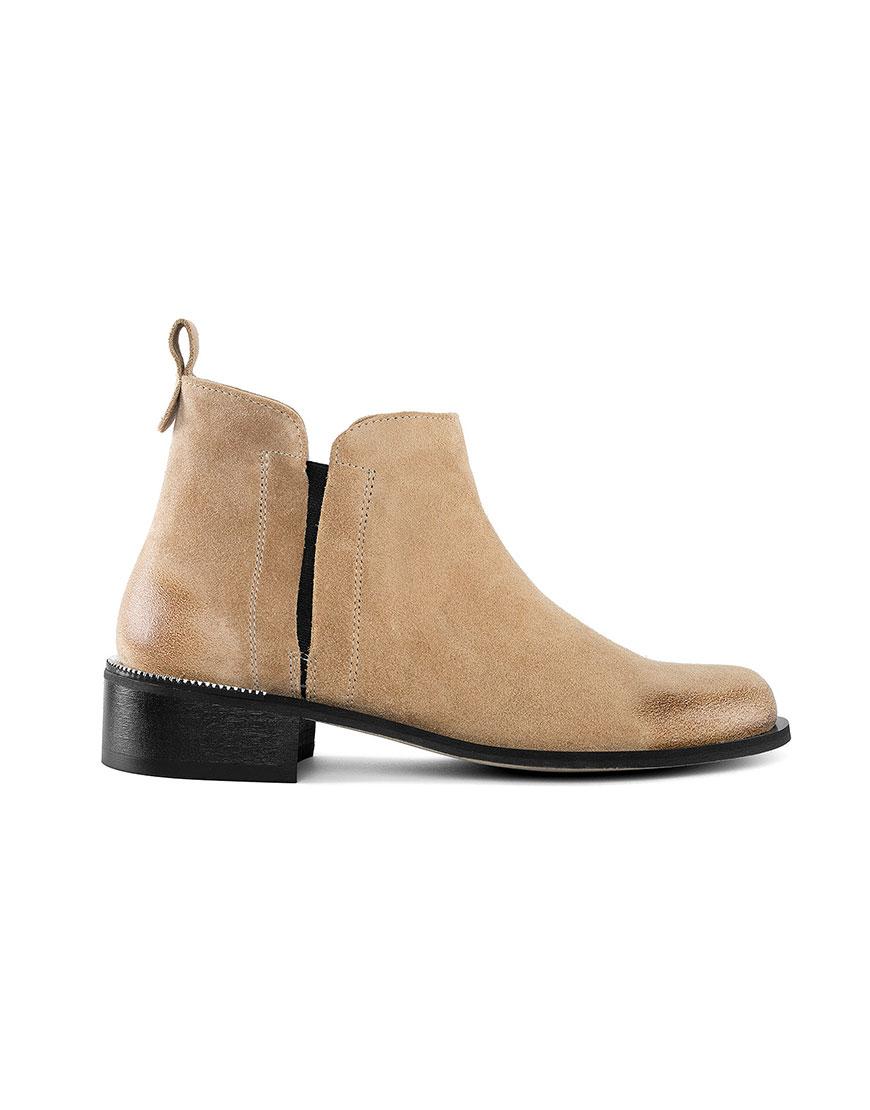 Ботинки с потертостью Cozy Beige