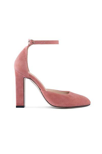 Замшевые туфли Mary Jane Blush MRSL_993243, фото 2 - в интеренет магазине KAPSULA
