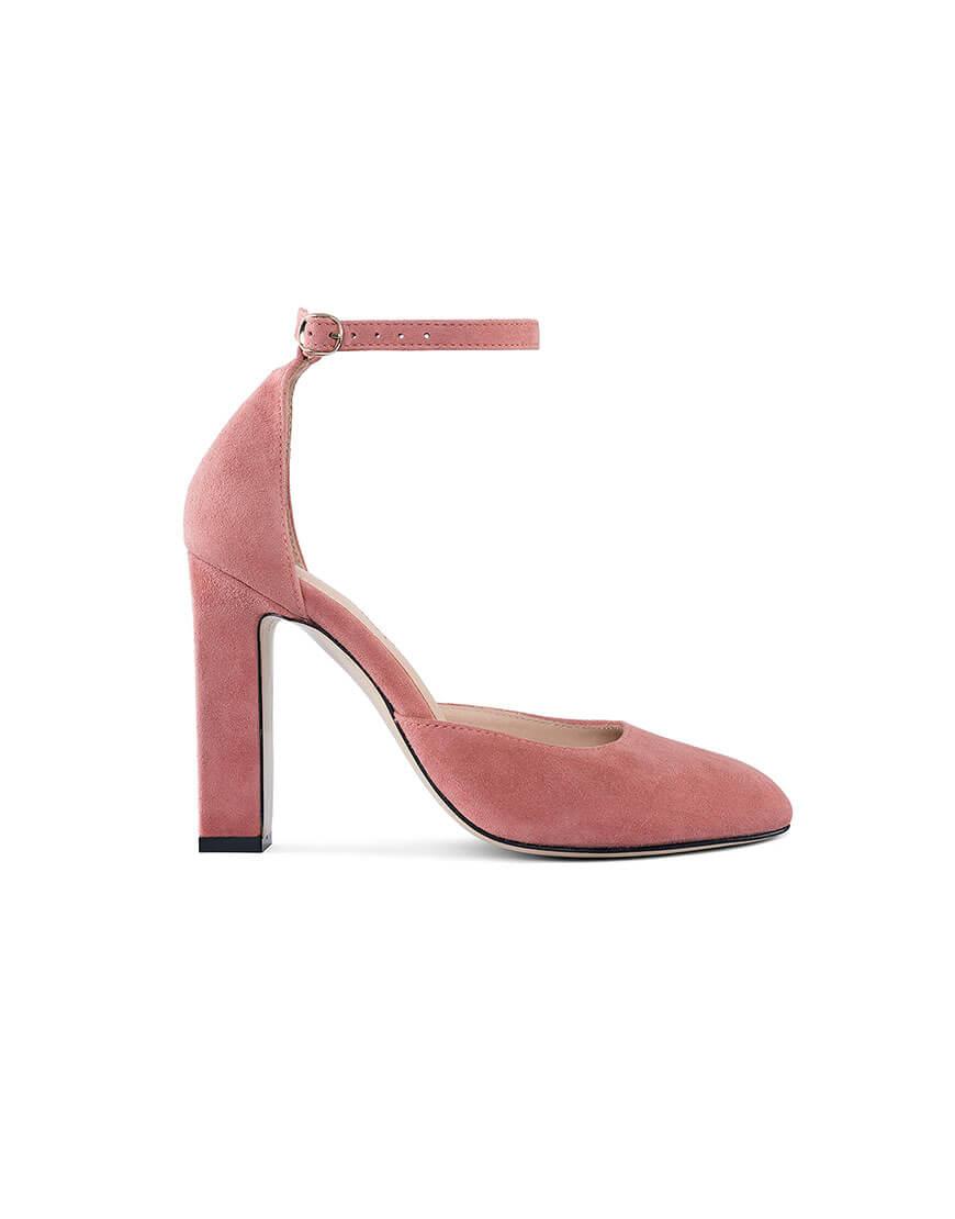 Замшевые туфли Mary Jane Blush