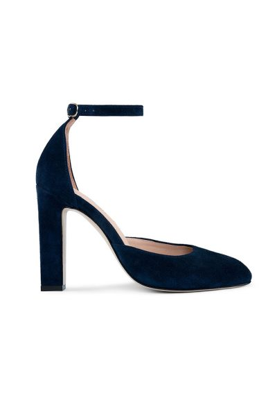 Замшевые туфли Mary Jane Blue MRSL_993253, фото 1 - в интеренет магазине KAPSULA