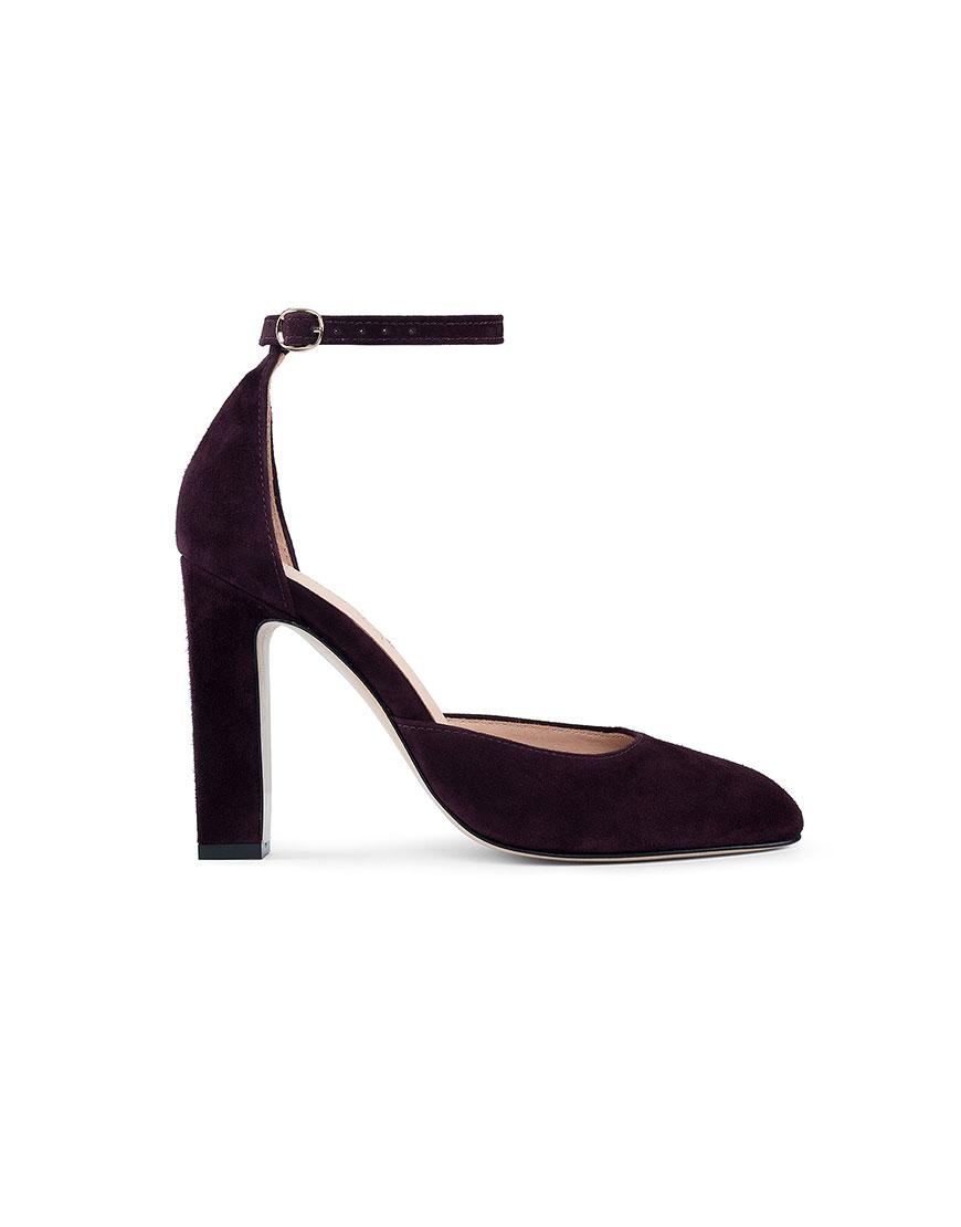 Замшевые туфли Mary Jane Violet