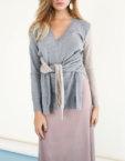 Платье-комбинация с бантиком JG_2007_185, фото 4 - в интеренет магазине KAPSULA