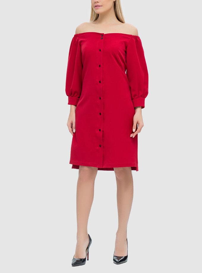 Платье со шнуровкой на спине MRND_М42-2, фото 1 - в интеренет магазине KAPSULA