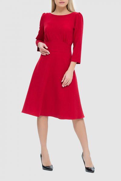 Платье с разрезом на спине и бархатной завязкой MRND_М44-2, фото 1 - в интеренет магазине KAPSULA