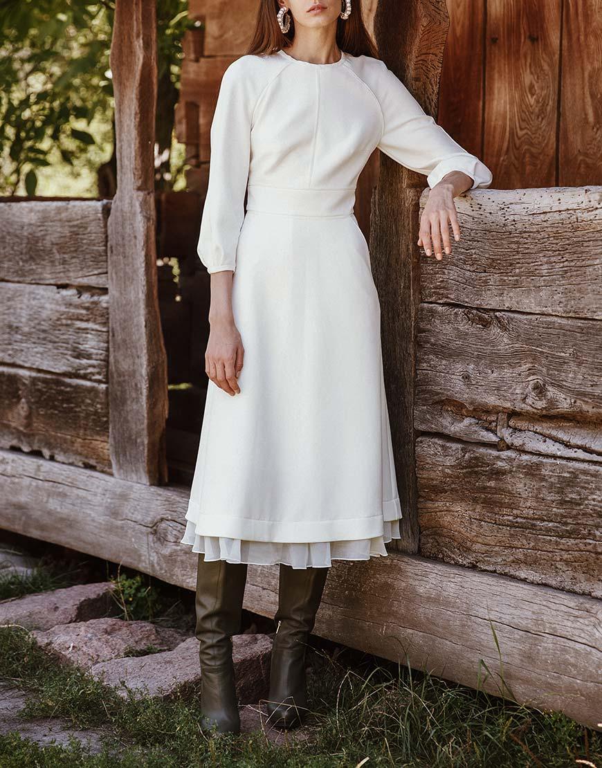 Платье Тиффани с открытой спиной