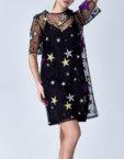 Двойное платье-чехол в пайетку CVR_CW20196, фото 4 - в интеренет магазине KAPSULA