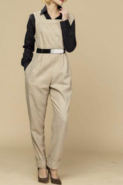 Комбинезон с зауженными брюками INS_FW1819_13_1, фото 3 - в интеренет магазине KAPSULA