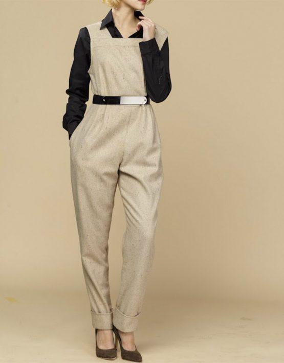Комбинезон с зауженными брюками INS_FW1819_13_1, фото 1 - в интеренет магазине KAPSULA