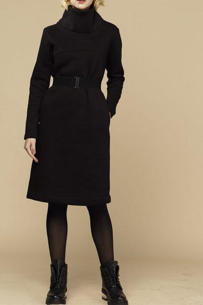 Теплое платье с начесом INS_FWSP1819_2, фото 1 - в интеренет магазине KAPSULA
