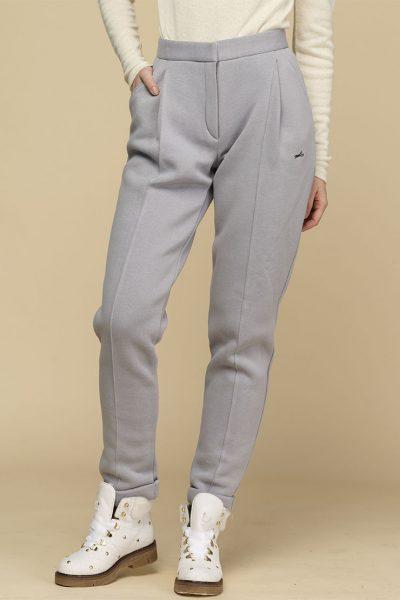 Теплые зауженные брюки с начесом INS_FWSP1819_4_1, фото 1 - в интеренет магазине KAPSULA