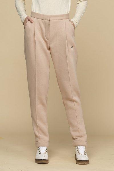 Теплые зауженные брюки с начесом INS_FWSP1819_4_2, фото 1 - в интеренет магазине KAPSULA