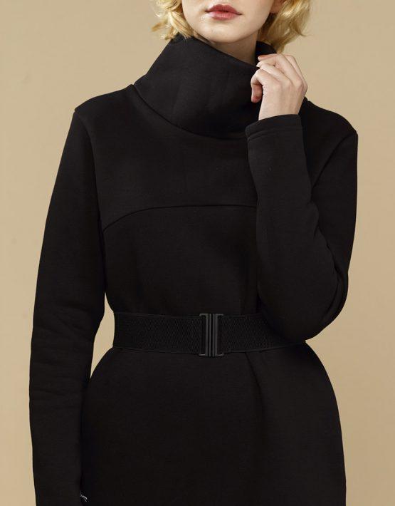 Теплое платье с начесом INS_FWSP1819_2, фото 3 - в интеренет магазине KAPSULA
