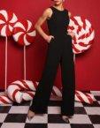 Шелковая блуза на пуговицах VONA-FW-18-19-65, фото 5 - в интеренет магазине KAPSULA