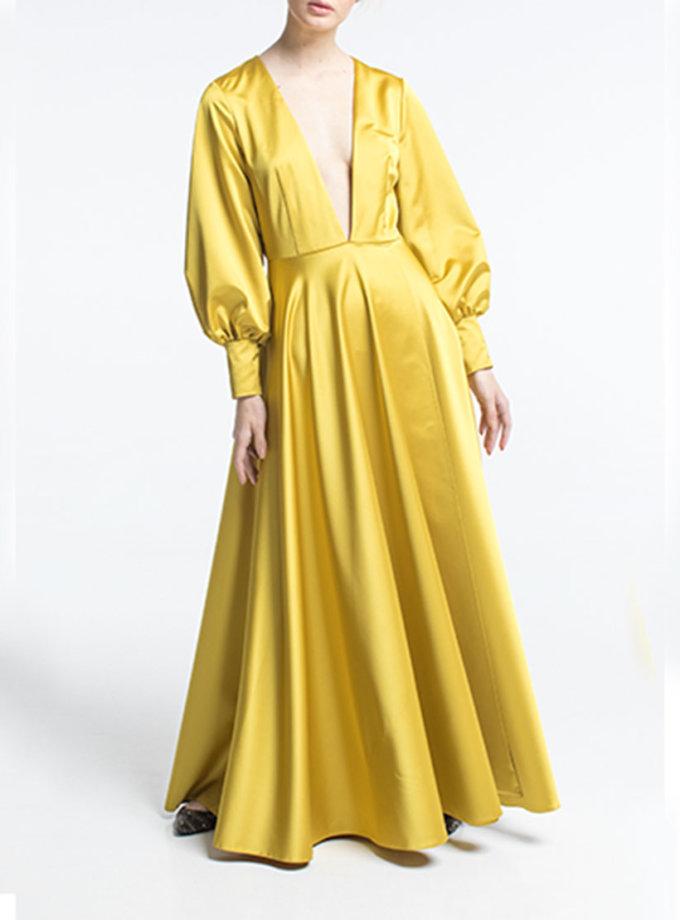 Платье с глубоким вырезом ALOT_100291, фото 1 - в интернет магазине KAPSULA