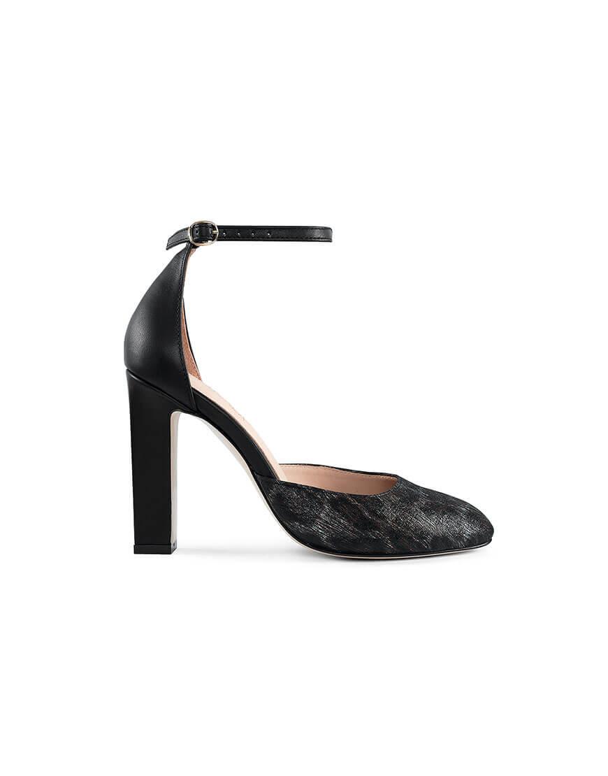 Купить Кожаные туфли Mary Jane Leopard