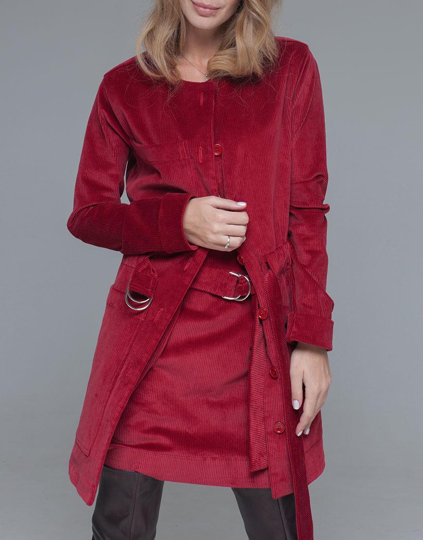 жакет-платье из плотного вельвета