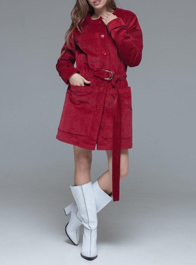 жакет-платье из плотного вельвета xm_fw118, фото 1 - в интеренет магазине KAPSULA