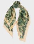 Шелковый платок Два цвета OLZ_ KS_SS101, фото 3 - в интеренет магазине KAPSULA