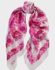 Шелковый платок Два цвета OLZ_ KS_SS104, фото 7 - в интеренет магазине KAPSULA