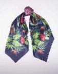 Шелковый платок Пасифлора OLZ_ KS_SS79-1, фото 5 - в интеренет магазине KAPSULA