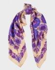 Шелковый платок Два цвета OLZ_ KS_SS100, фото 6 - в интеренет магазине KAPSULA