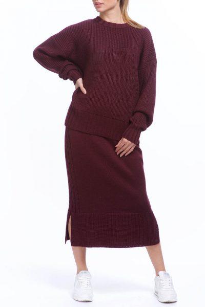 Костюм из свитера и юбки из шерсти HMCRG_Suit_skswt_1, фото 1 - в интеренет магазине KAPSULA