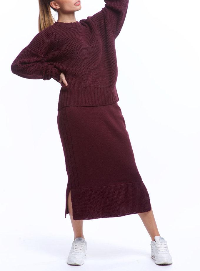 Костюм из свитера и юбки из шерсти HMCRG_Suit_skswt_1_outlet, фото 1 - в интернет магазине KAPSULA
