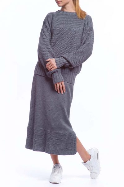Костюм из свитера и юбки из шерсти HMCRG_Suit_skswt_3, фото 1 - в интеренет магазине KAPSULA