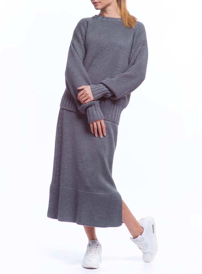 Костюм из свитера и юбки из шерсти HMCRG_Suit_skswt_3_outlet, фото 1 - в интернет магазине KAPSULA