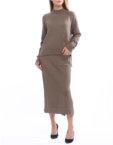 Костюм из свитера и юбки из шерсти HMCRG_Suit_skswt_3_outlet, фото 6 - в интеренет магазине KAPSULA