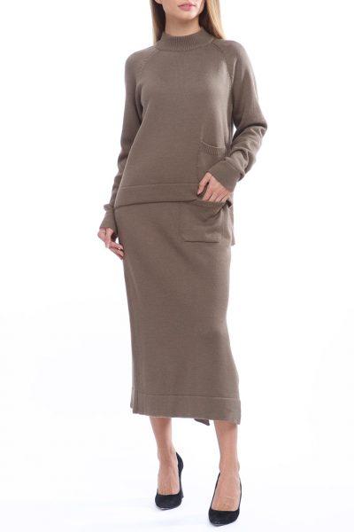 Костюм из свитера и юбки из шерсти HMCRG_Suit_skswt_4, фото 1 - в интеренет магазине KAPSULA