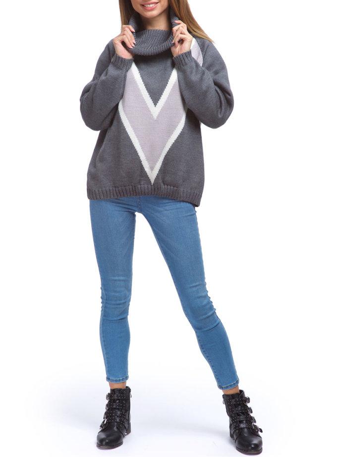 Свободный свитер из мягкой шерсти HMCRG_swt_19, фото 1 - в интернет магазине KAPSULA
