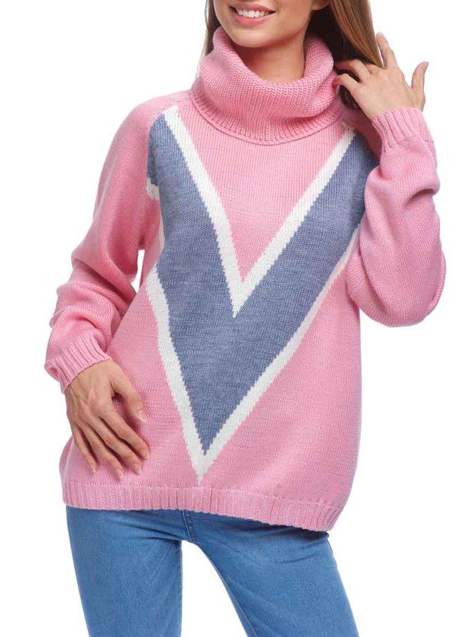 Свободный свитер из мягкой шерсти HMCRG_swt_20, фото 1 - в интеренет магазине KAPSULA