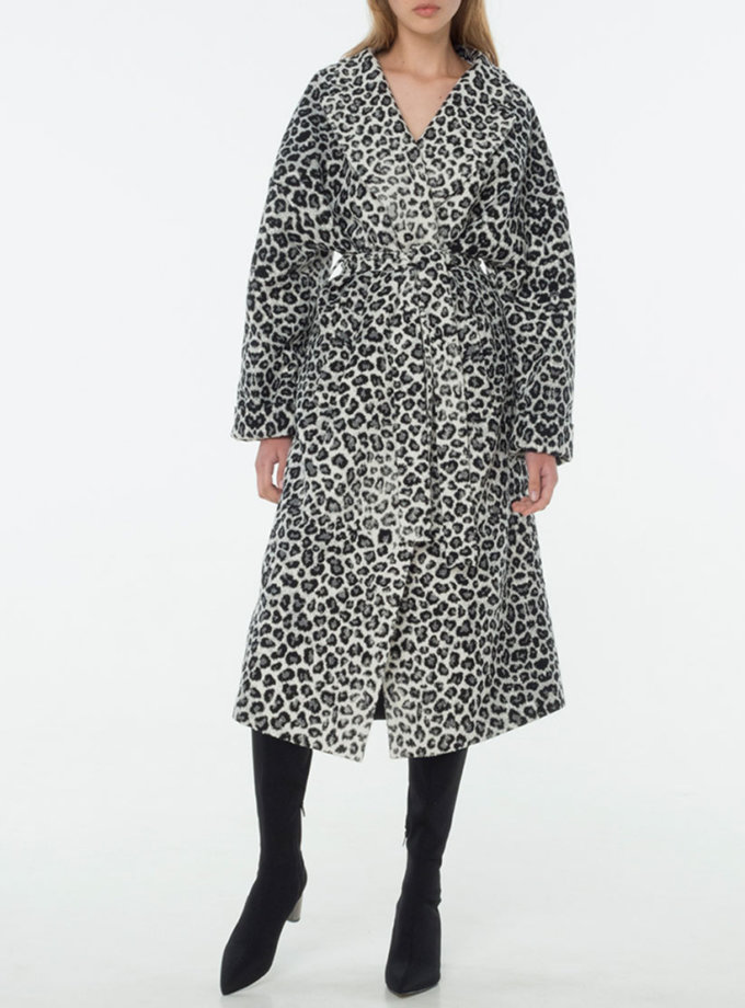 Пальто из шерсти на подкладе BEAVR_BA_W19_53, фото 1 - в интернет магазине KAPSULA
