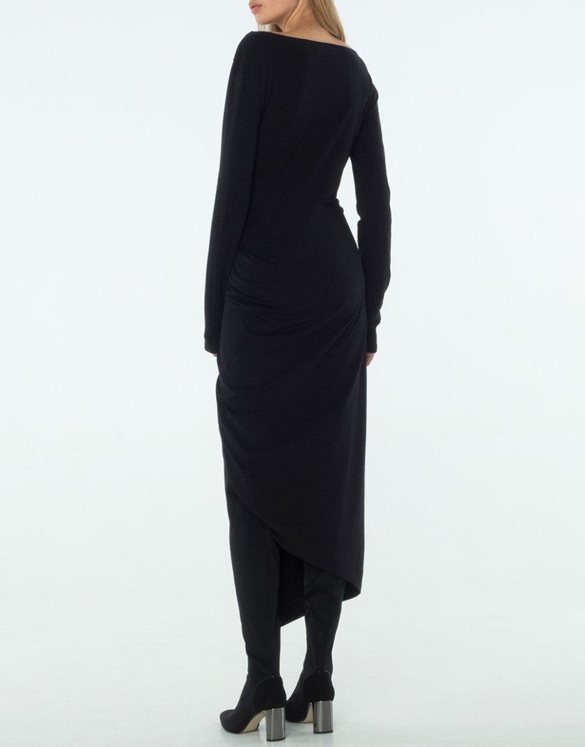 Трикотажное Платье с драпировкой BEAVR_BA_W19_55, фото 1 - в интернет магазине KAPSULA