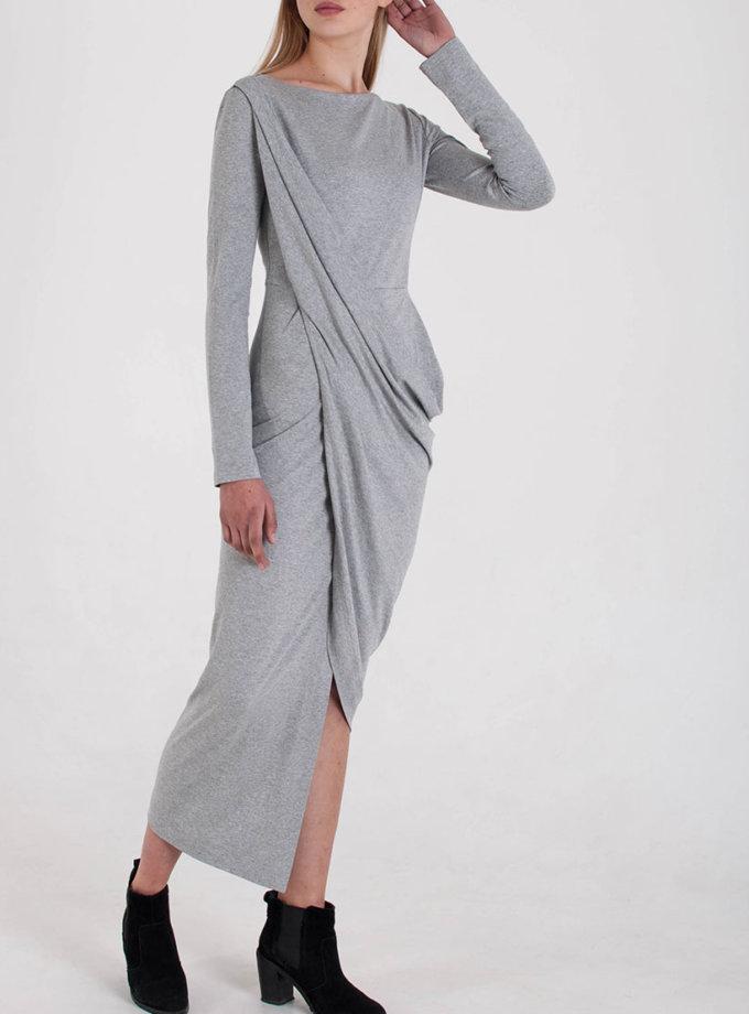 Трикотажное Платье с драпировкой BEAVR_BA_W19_57, фото 1 - в интеренет магазине KAPSULA