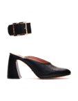 туфли из кожи с литым каблуком MDVV_721254, фото 4 - в интеренет магазине KAPSULA