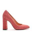 кожаные туфли на устойчивом каблуке MDVV_721402, фото 4 - в интеренет магазине KAPSULA