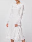 Платье миди на тонких бретелях NLN_AI3603, фото 3 - в интеренет магазине KAPSULA