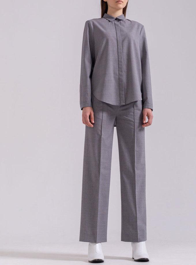 Прямые брюки из хлопка PPMT_PM-44_cage, фото 1 - в интернет магазине KAPSULA