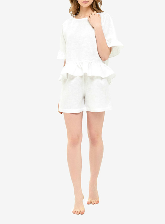 Пижама с воланами MRND_Н4-1, фото 1 - в интеренет магазине KAPSULA