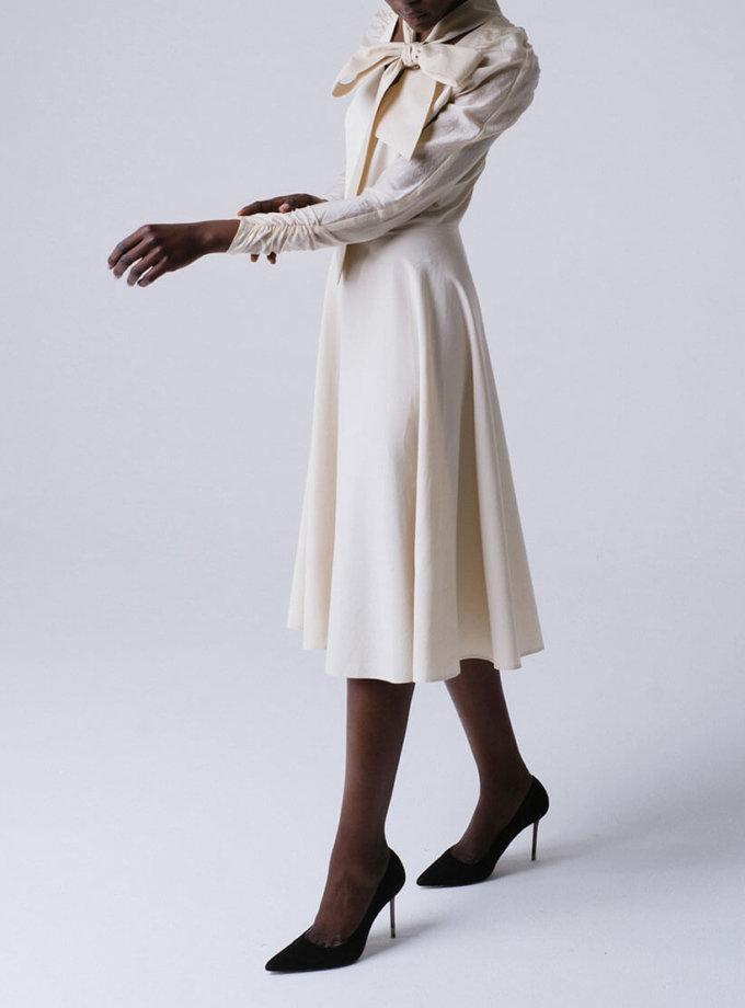 Приталенное платье с рукавами реглан MNTK_MTDRS192001, фото 1 - в интеренет магазине KAPSULA