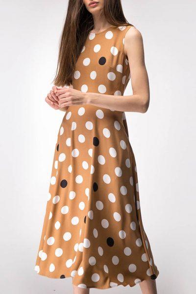 Платье приталённого силуэта SHKO_15014014, фото 4 - в интеренет магазине KAPSULA