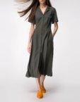 Платье из плиссированой ткани SHKO_17037002_outlet, фото 4 - в интеренет магазине KAPSULA