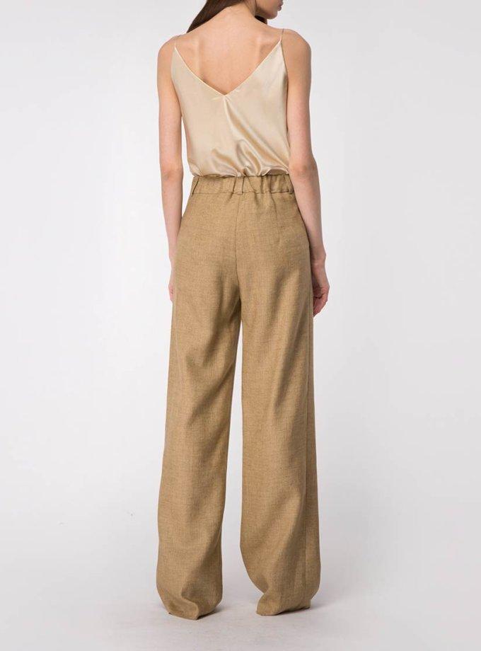 Широкие брюки из льна SHKO_18034004, фото 1 - в интернет магазине KAPSULA