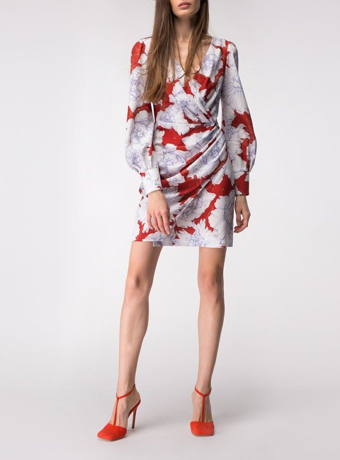Платье мини на запах SHKO_18054001_outlet, фото 1 - в интеренет магазине KAPSULA