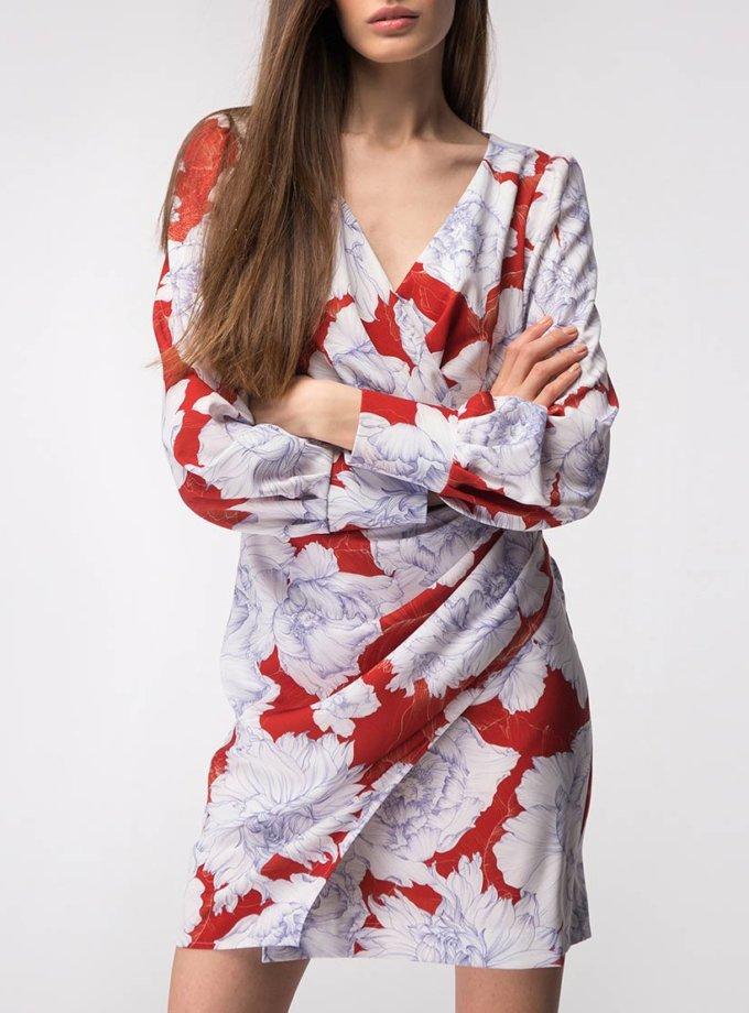 Платье мини на запах SHKO_18054001_outlet, фото 1 - в интернет магазине KAPSULA